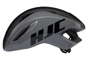 Casco de carretera HJC Valeco Gloss gris / negro