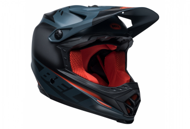 Casco Bell Full-9 Fusion Mips blu / rosso int