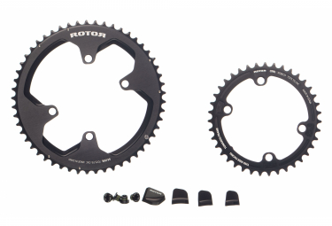 Kit Plateaux Rotor Rond + Cover Ultegra/Dura Ace 9100
