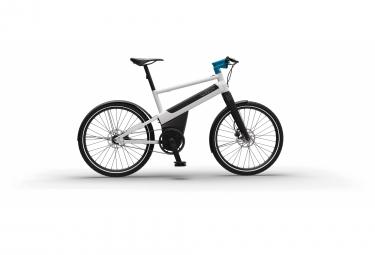 Vélo de ville électrique Iweech Smartbike 100% automatique blanc perle 2020