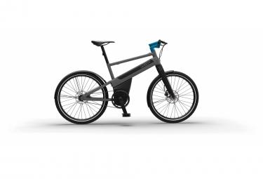 Vélo de ville électrique Iweech Smartbike 100% automatique gris orage anodisé 2020