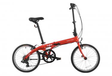 Vélo Pliant Dahon Vybe D7 Shimano Tourney 7V Rouge 2020