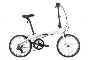 Vélo Pliant Dahon Vybe D7 Shimano Tourney 7V Blanc 2020