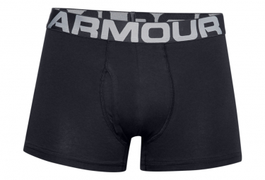 Under Armour Boxer X3 Charged Cotton 3in Black Men