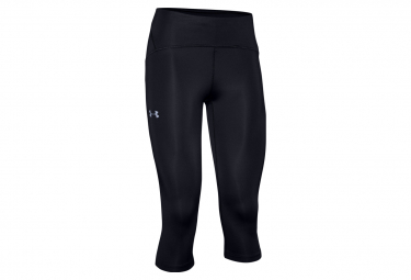 Under Armour 3 4 Tight Fly Fast Black Mujer S