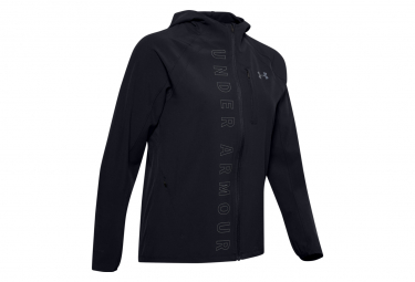 Under Armour Repellent Jacket Qualifier OutRun the Storm Black Femme