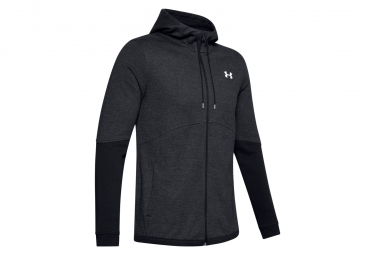 Sweat à capuche Under Armour Zip Double Knit Noir Homme