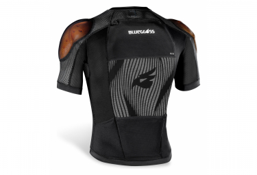 Protection Jacket with Back Bluegrass Armor B&S CE Black