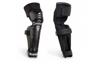 Knee guards with Shin guards Bluegrass Big Horn Black