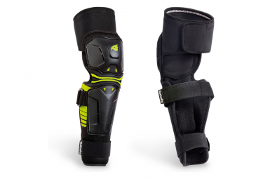 Bluegrass Big Horn Knee Guards with Shin Guards Black 2021