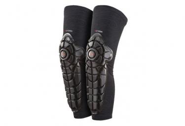 Protector de rodilla y espinilla para ninos g form elite black l xl
