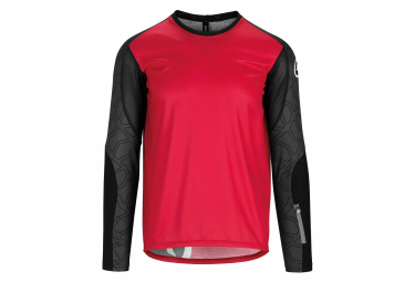Assos Trail Long Sleeve Jersey Rodo Red