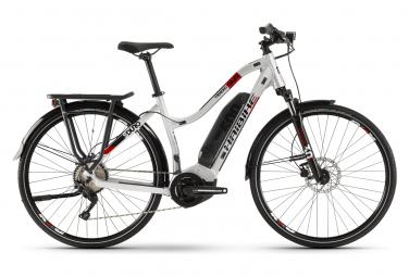 Haibike SDuro Trekking 2.0 W Womens Hybrid Bike Gris / Rouge