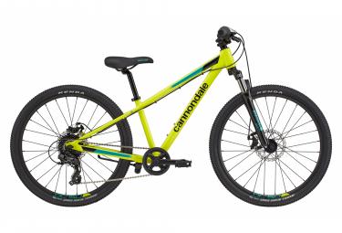 Cannondale Kids Trail 24 '' Kids Semi-Rigid Mountain Bike Yellow 2020