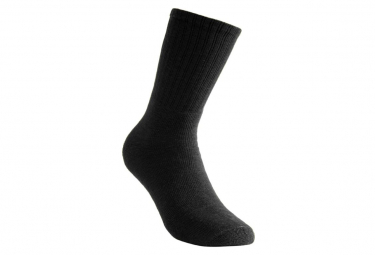 Image of Chaussettes ullfrotte 200 noir woolpower 40 44