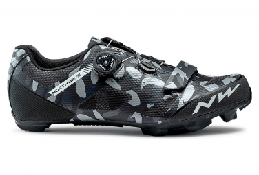 Northwave Razer Camo / Schwarze MTB Schuhe