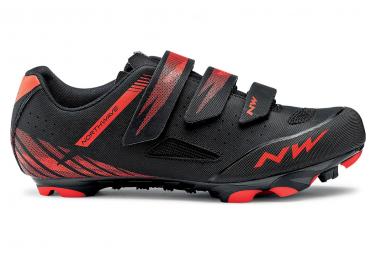 Northwave Origin MTB Schuhe Schwarz / Rot