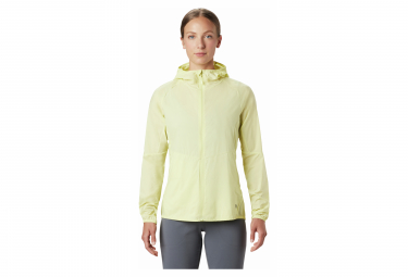 Mountain Hardwear Kor Preshell Winddichte Jacke Gelbe Frauen