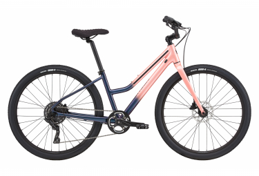 Bicicleta Ciudad Mujer Cannondale Treadwell 2 Remixte Bleu / Rose