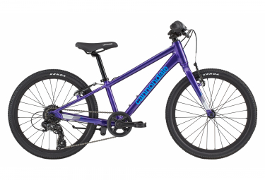 Cannondale Kids Quick 20 Kids Bike 20'' Bleu / Violet / Fluo