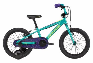 VTT Rigide Enfant Cannondale Kids Trail 16 16'' Vert / Violet 3 - 5 ans