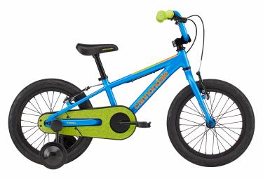 VTT Rigide Enfant Cannondale Kids Trail 16 16'' Bleu / Jaune 3 - 5 ans