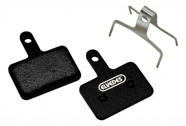 ELVEDES Metallic Carbon Platte für Shimano BR-M375, m415, m51