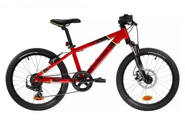VTT Semi-Rigide Enfant Rockrider ST 900 20'' Noir / Rouge 6 - 9 ans