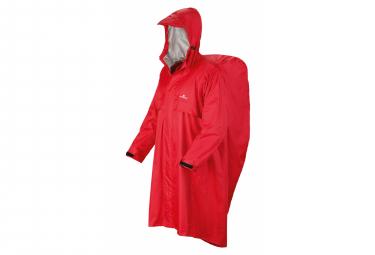 Waterproof poncho Ferrino Trekker Ripstop Red