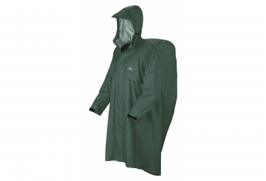Waterproof poncho Ferrino Trekker Ripstop Green