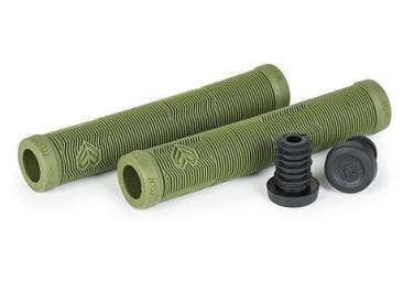 Grips eclat PULSAR army Vert 165mm