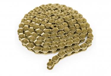 4-STROKE gold halflink sparkle chain