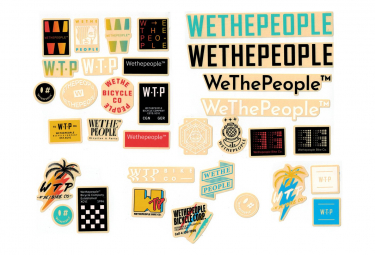 Set of 15 WeThePeople 15 Pieces Stickers