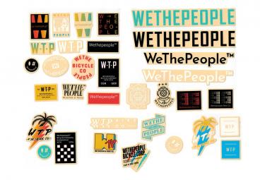 Set de 15 Stickers WeThePeople 15 Pièces
