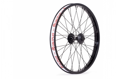 SaltPLUS SUMMIT Front Wheel Black