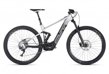 Mountain bike elettrica a sospensione completa Sunn Gordon S1 Shimano SLX 11s Nero / Grigio 2020