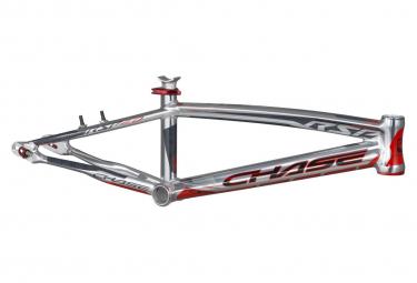 Cadre BMX CHASE rsp4.0 pro alu 20.5' direction OD 1-1/8' polish/red