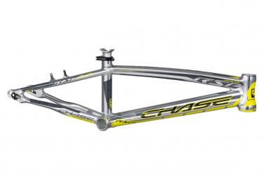 Cadre BMX CHASE rsp4.0 pro xl+ alu 21.25' direction OD 1-1/8' polish/n yellow