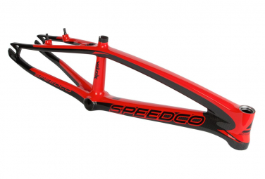 Cadre BMX SPEEDCO VELOX Pro XL Plus red