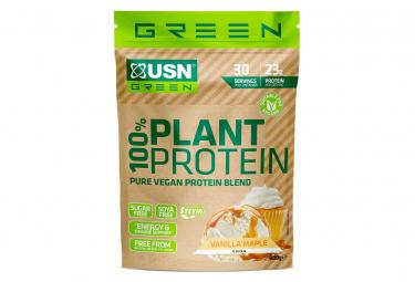 Image of Proteines 100 plant vanilla maple 900g