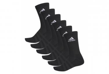 adidas gepolsterte Crew (6 Paar) Socken Schwarz Unisex
