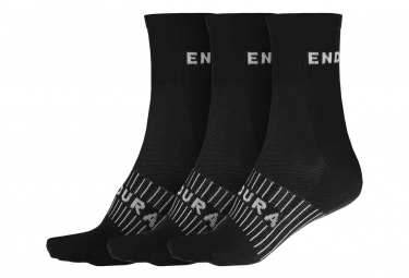 3 Paar Endura Coolmax Black Socken