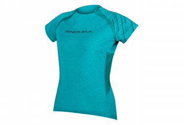 Endura SingleTrack Damen Kurzarm Jersey Pacific Blue
