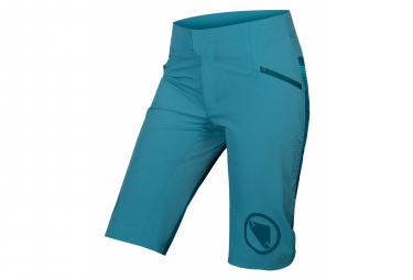 Endura SingleTrack Kingfisher Skinless Shorts für Damen