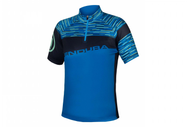Endura Hummvee Ray II Azur Kids Short Sleeve Jersey