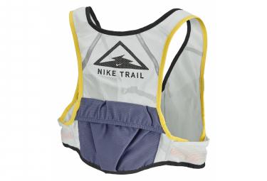 Veste de course NikeTrail Running Femme Gris Jaune