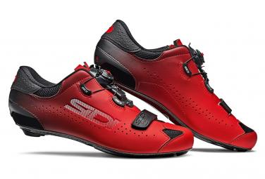 Par De Zapatos Sidi Sixty Negro   Rojo 43