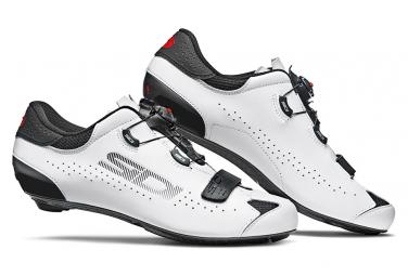 Par de zapatos Sidi Sixty Negro / Blanco