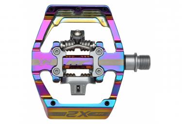 Paire de Pédales Automatiques HT X2 Oil Slick