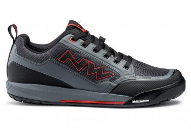 Northwave Clan Grau / Rot MTB Schuhe